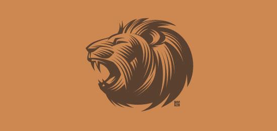 Mejores logotipos de Leones - León de Gal Yuri