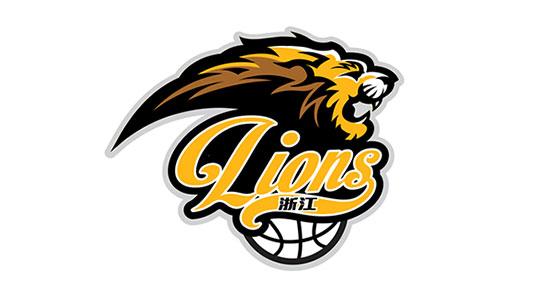 Concepto de logo de leones por octopus zx