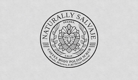 Naturally Salvaje Logo by Amy Hood