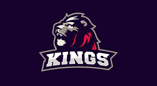 Mejores logotipos de Leones - Oslo Kings de Dlanid