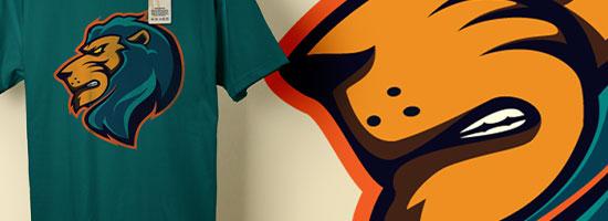 Free LionKing Logo Template (AI, EPS)