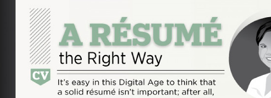 resume the right way