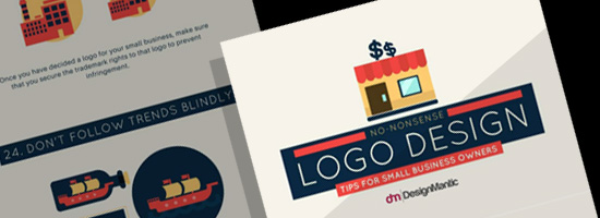 Small Business Logo Design Tips Infographic