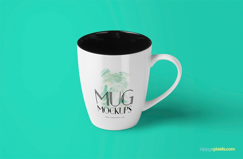 3 FREE OUTSTANDING COFFEE CUP MOCKUPS by ZippyPixels