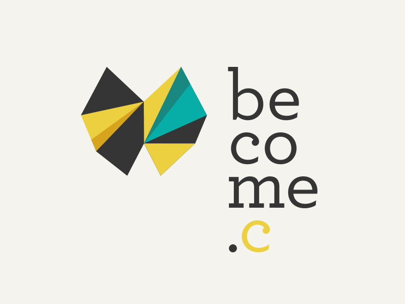 Ideas y Diseños de Logotipos tipo Origami o Plegados - Conviértete en comunidad por _Santos_