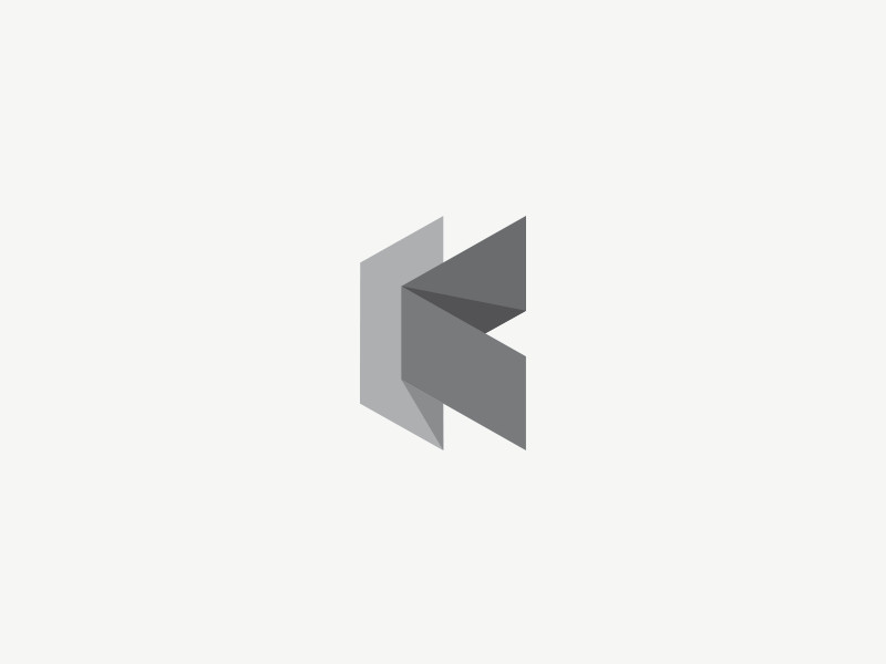 Folded K by Jonas