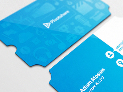 Ticket Business Card by Ryan Ford