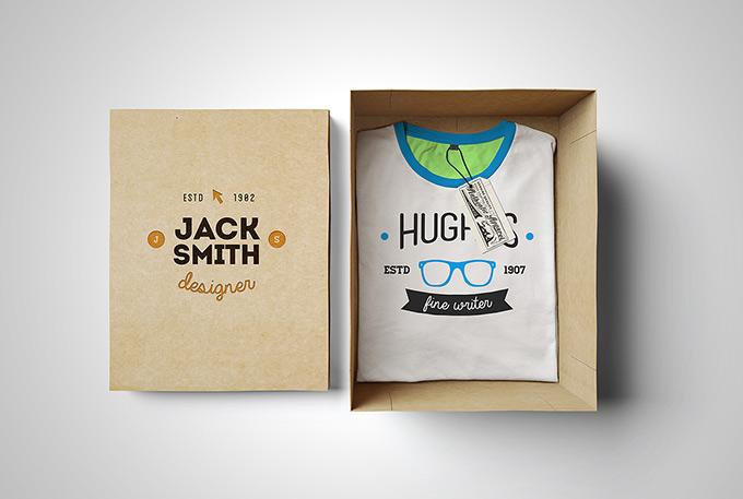 T-Shirt Mockup. Box Edition by Alex Warden