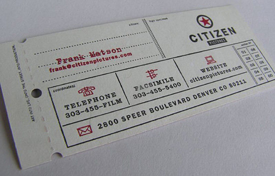 citizen business card