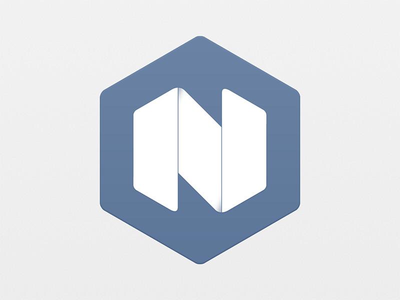 Logo hexagonal de Nielsen Ramon