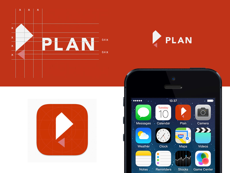 Plan Logo / App Icon by Jonas