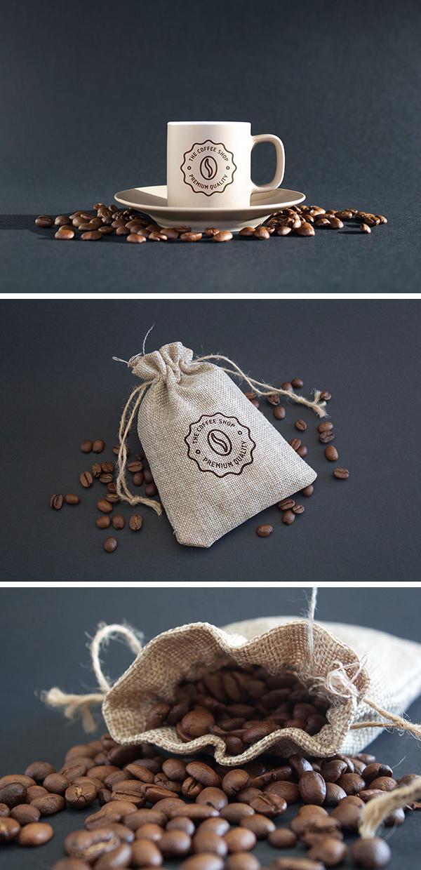 Coffee MockUps PSD by Ash Flint