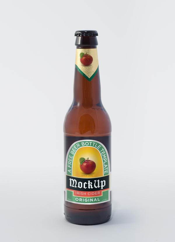 Beer Bottle PSD MockUp by Simon Stratford