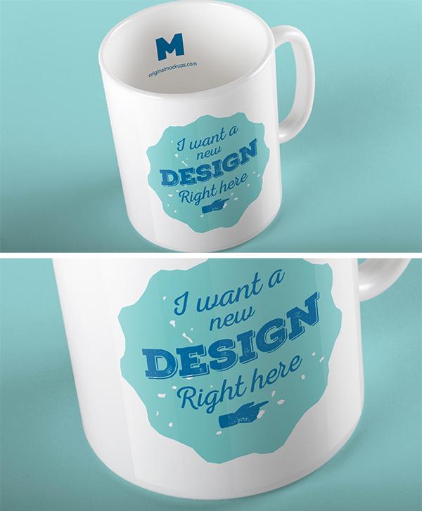 Mug PSD MockUp by Original Mockups