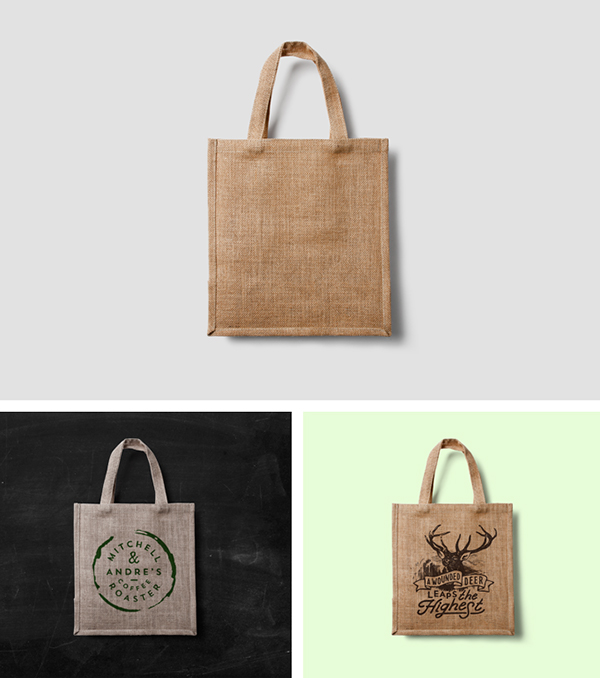 Eco Bag MockUp by Forgraphic