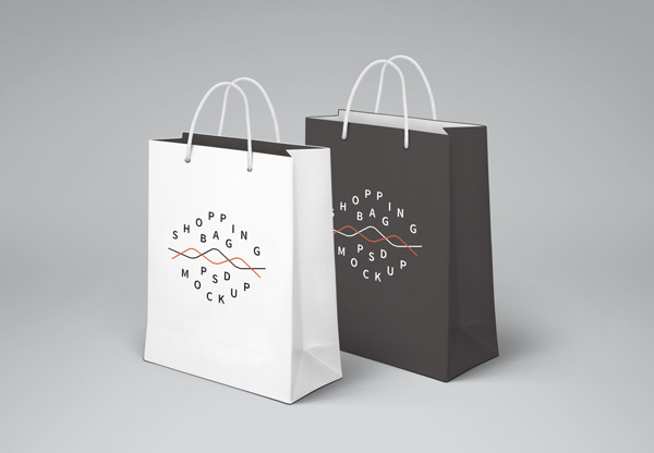 Shopping Bag PSD MockUp by GraphicBurger
