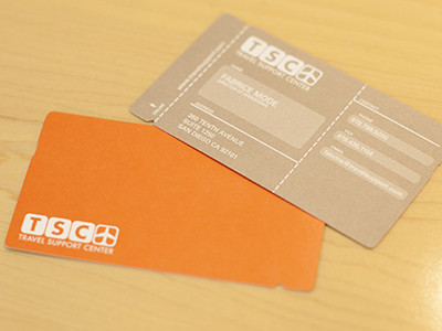 TSC Business Card by Aaron Deckler
