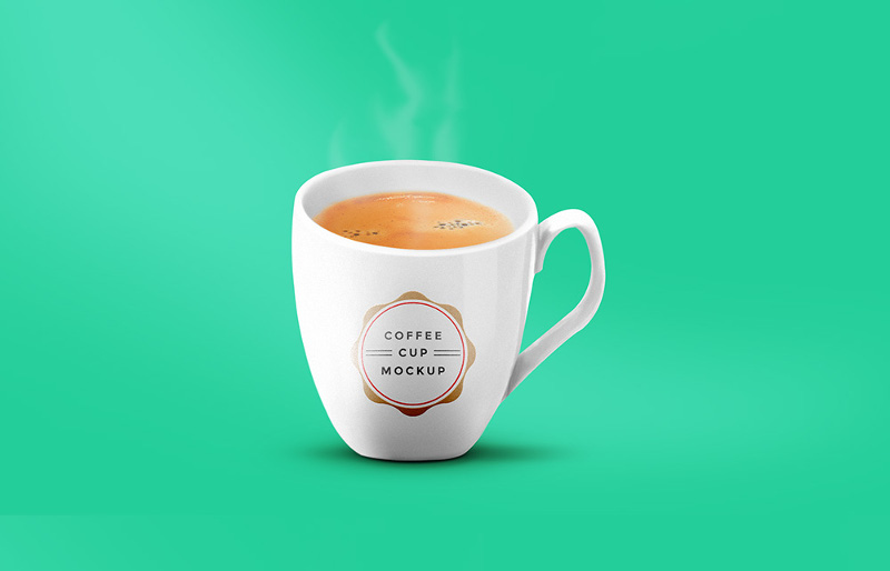 Coffee Cup Mockup PSD by GraphicsFuel
