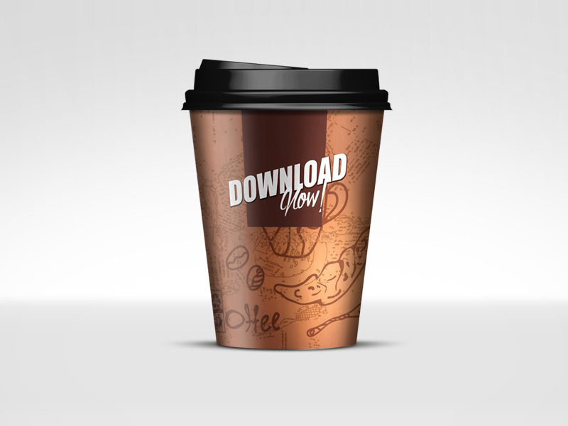 Paper Cup Mockup by Michael McCain