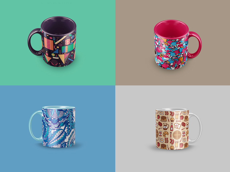 Mug Mockups by Blatom Design