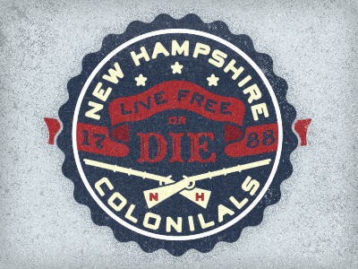 Coloniales de New Hampshire por Adam Trageser