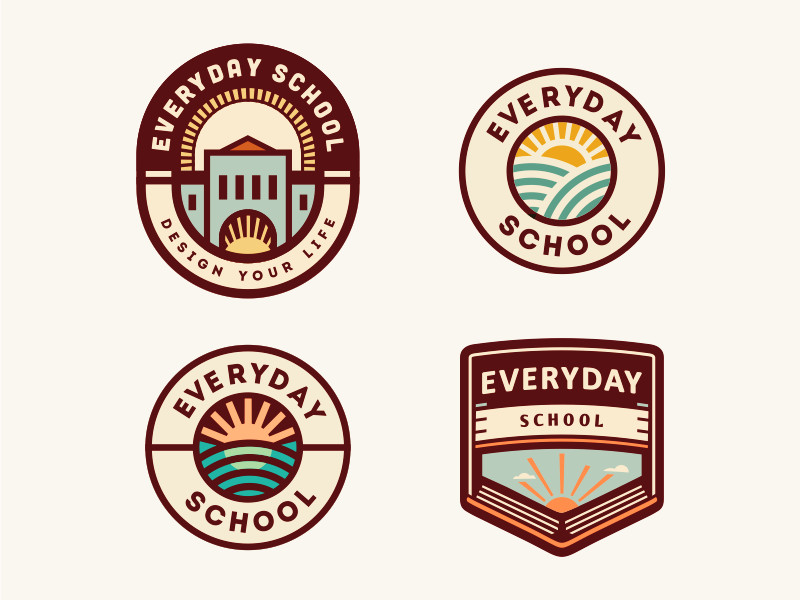 Everyday School por Szende Brassai