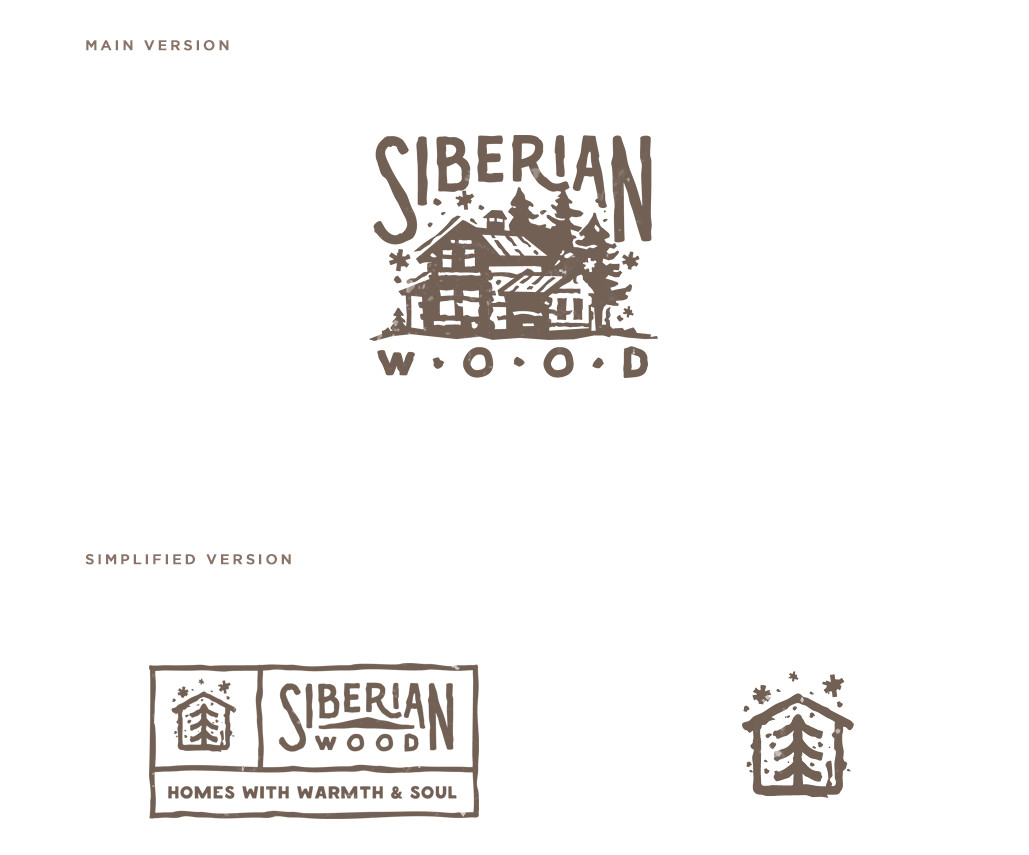 Siberian Wood Logo por Dmitry Stolz