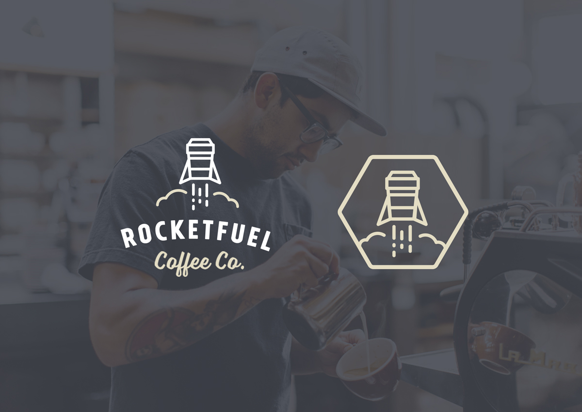 Rocketfuel Branding Development por Nathan Riley