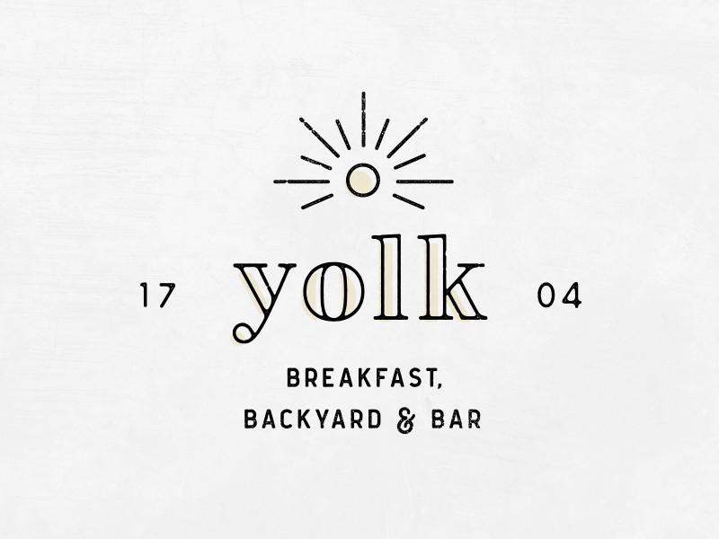 Yolk Logo by Cara Bell