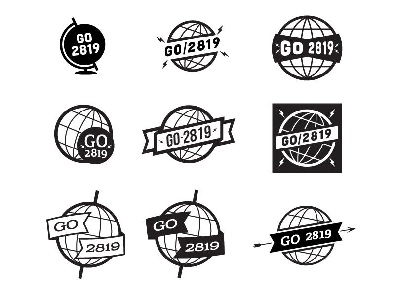 Globe Vintage Logos by Luke Anspach