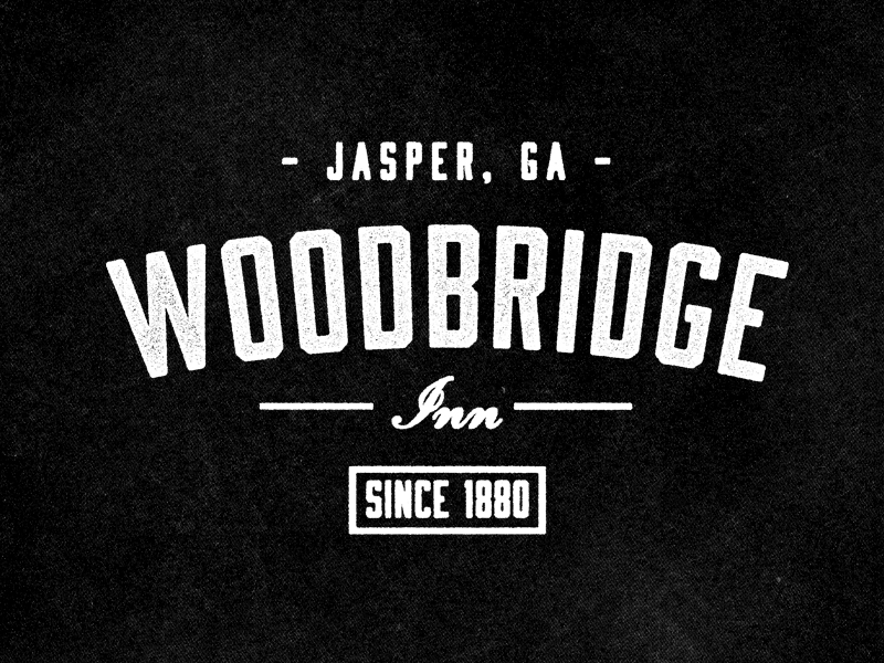 Logotipo de Woodbridge Inn por Jeremy Vessey