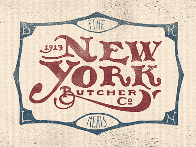 New York Butcher Co por Adam Trageser
