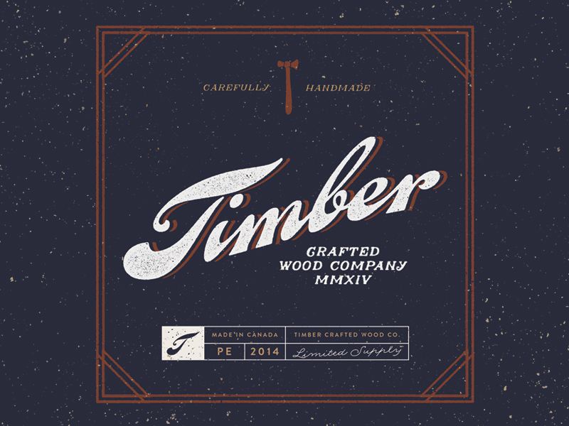 Timber Logo por Jeremy Vessey