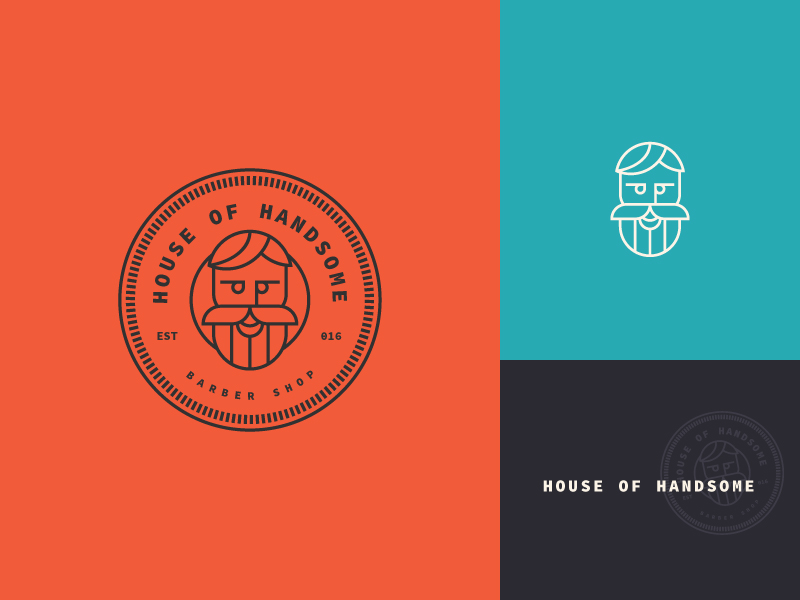 House Of Handsome Logo por Vlad Cristea