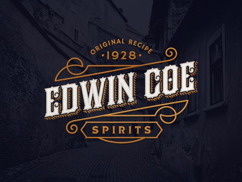 Edwin Coe Logo by Srdjan Vidakovic