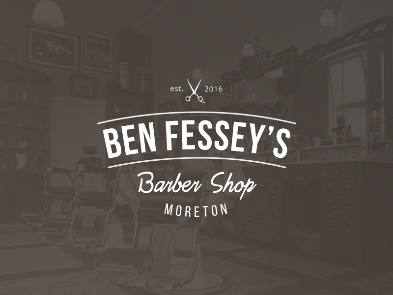 Barber Shop Branding por Emma Houghton