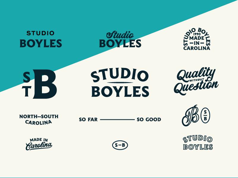 Studio Boyles Logos by Jacob Boyles
