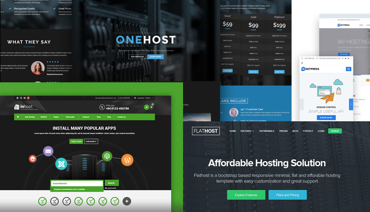 13 Best WordPress Hosting Themes with WHMCS Integration