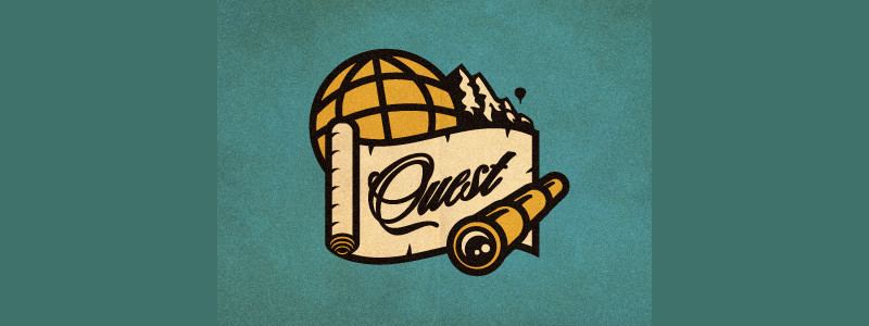 Quest Logo Concept by Emil Ayouni
