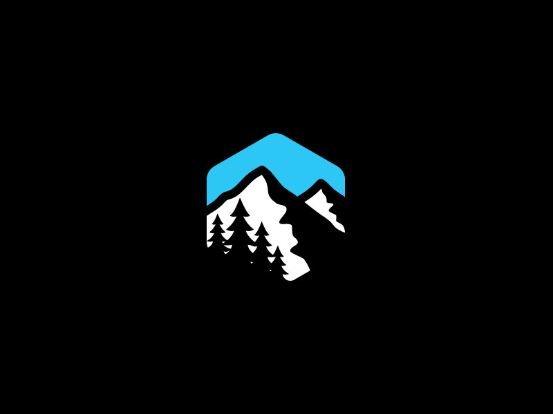 Mountain Logo by Jord Riekwel