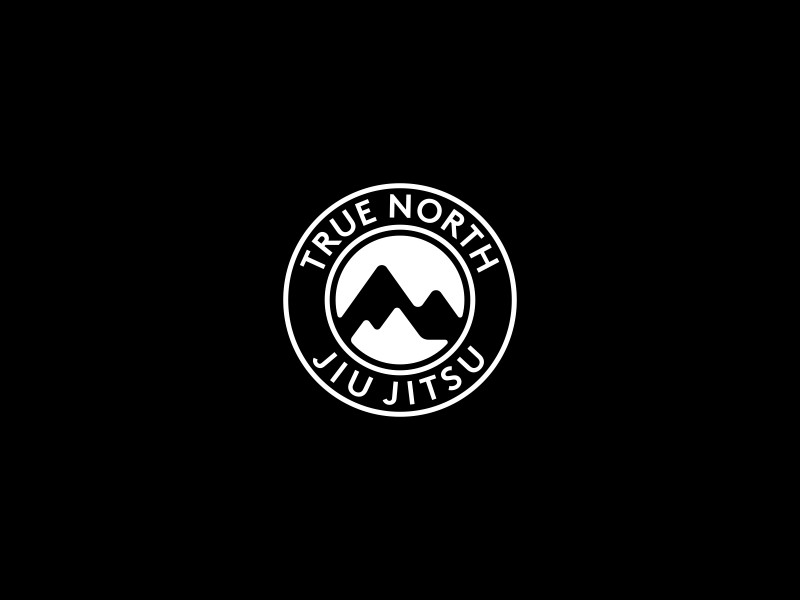 True North Jiu Jitsu Logo Design by Dalius Stuoka