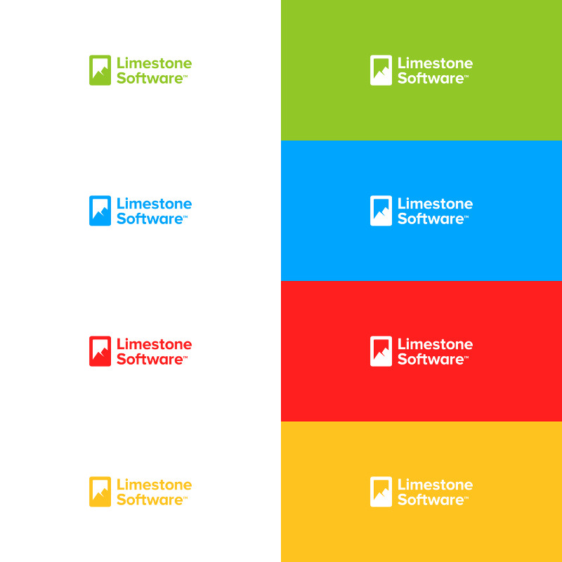 Limestone Software Logo Design by Dalius Stuoka