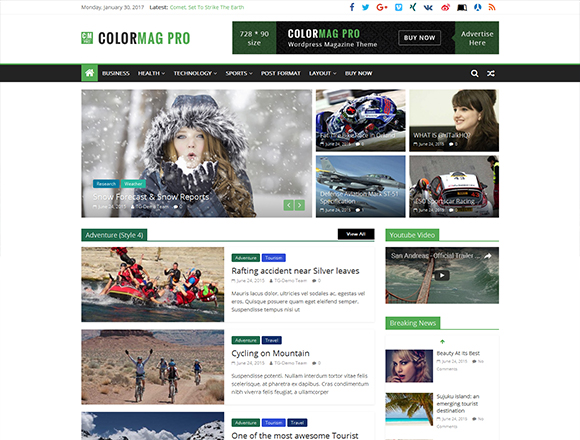 ColorMag - Magazine WordPress Theme