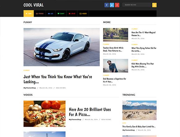 Cool - Magazine WordPress Theme