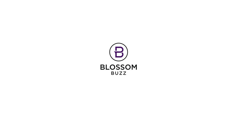 Blossom Buzz Logo by FreelanceLogoDesign
