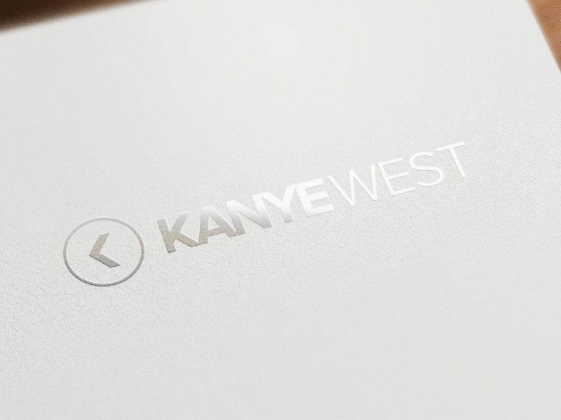 Kanye West Logo by Brian Plemons