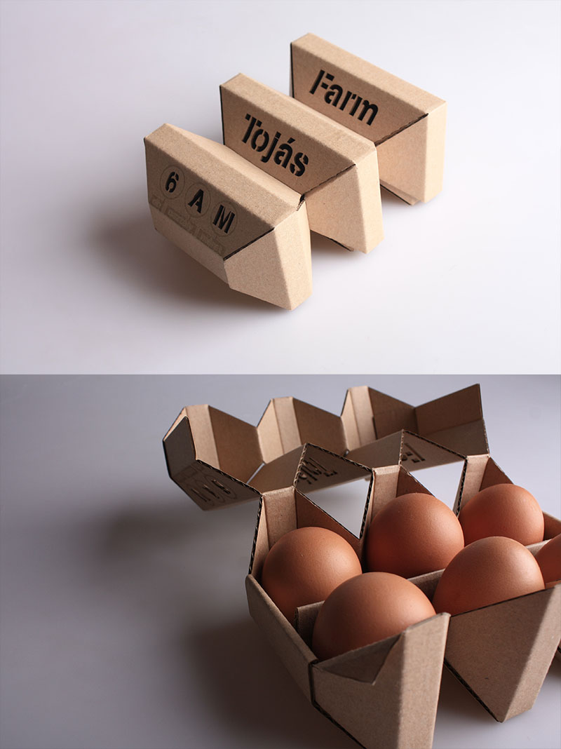 Egg Box Stacker by Ádám Török