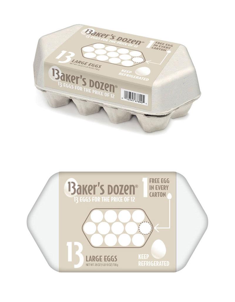 Baker's Dozen Egg Carton (Concept) by Randy Ludacer