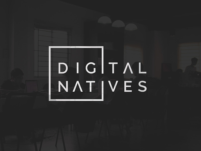 Digital Natives Logo Design by Monika Traikov
