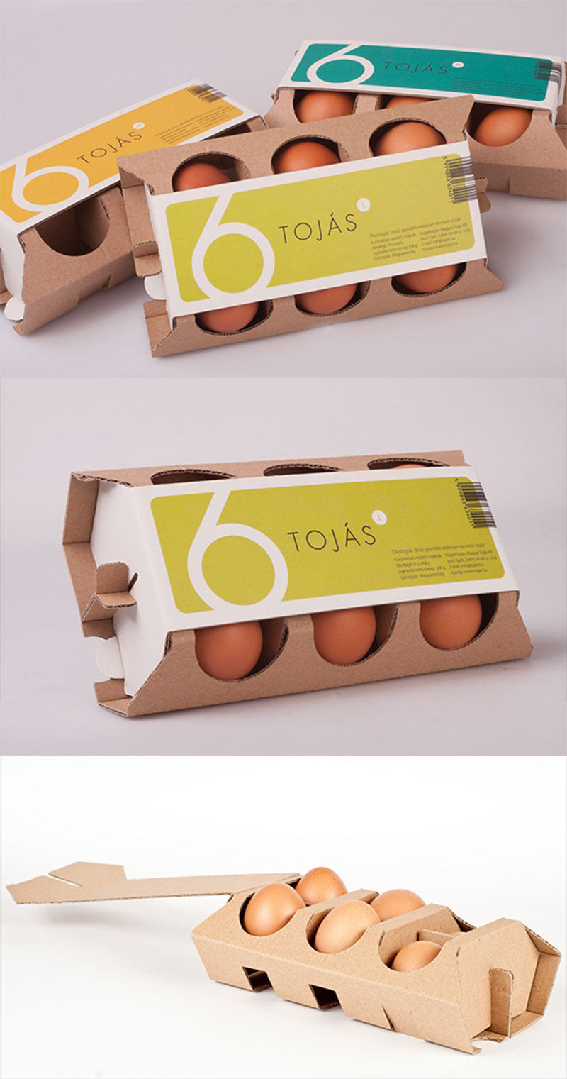 Egg Box 2 / Ei-Kasten 2 / Tojástartó 2 by Anita Vaskó